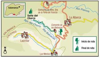Mapa Descriptivo de la comarca.