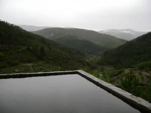Para un baño mirando el paisaje