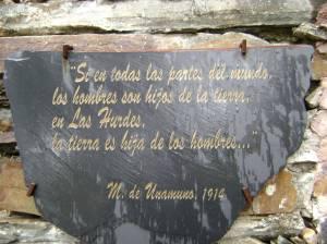 Inscripción en una casa en Avellaneda