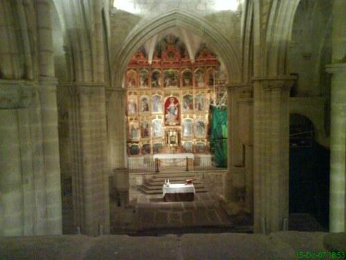 iglesia de santa maría la mayor (dentro)