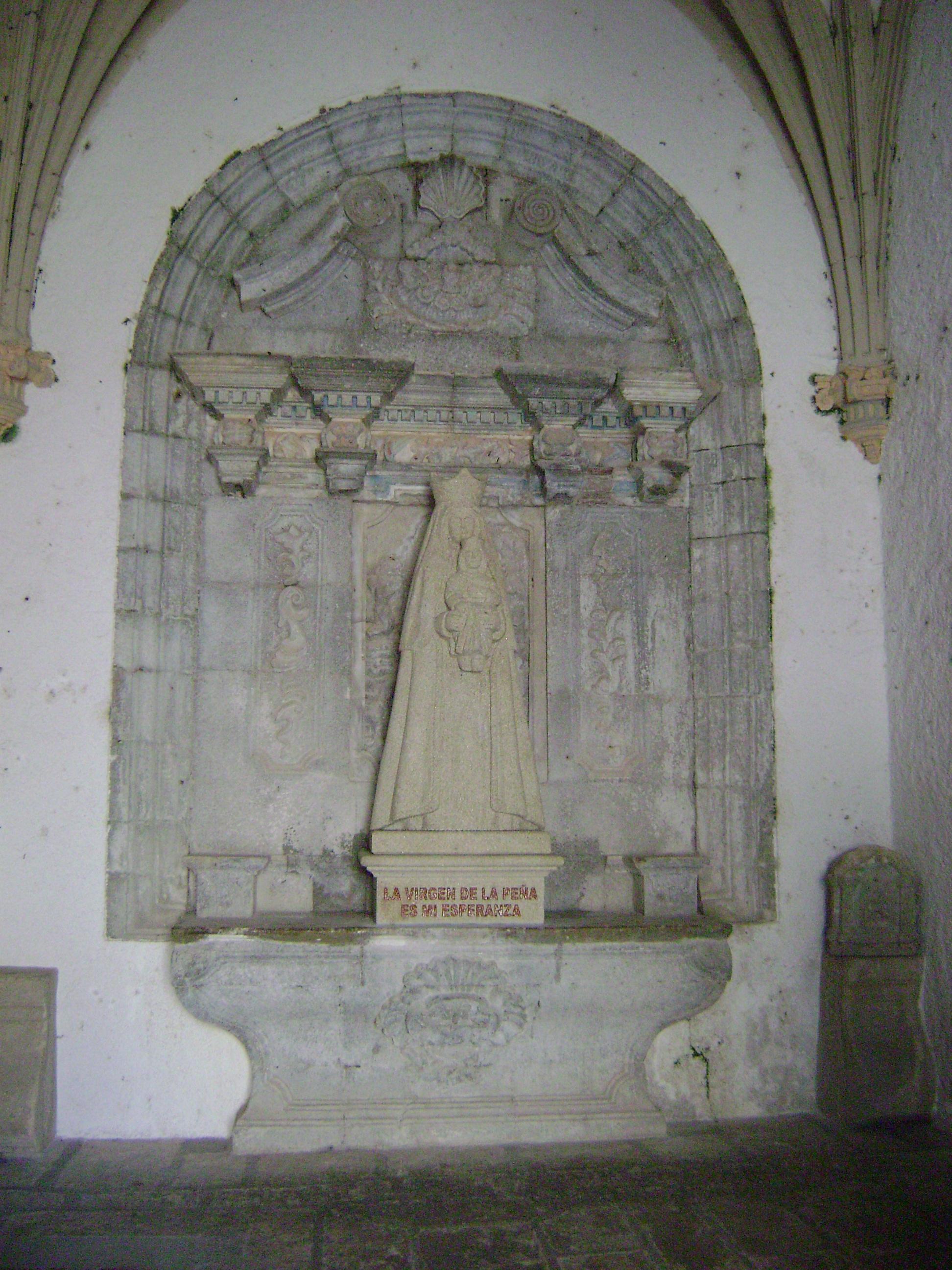 Virgen peña de francia, las hurdes