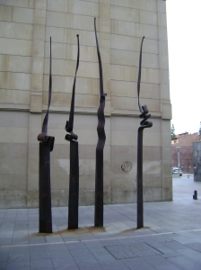las lanzas...