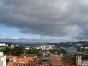 Vista de la ciudad, desde la Universidad