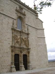 Parte trasera de la catedral