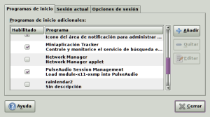 Modificar Preferencias de Inicio sesion Ubuntu