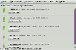 Administrador de Red wicd-manager para Ubuntu