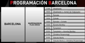 Programa 21junio Barcelona
