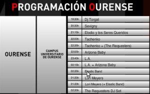 Programa 21 junio Ourense
