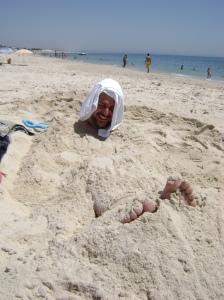 Yo, enterrado en Troia