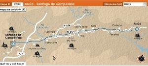 Etapa 29 del Camino Francés: Arzúa - Santiago de Compostela