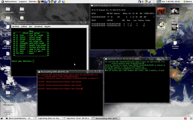 Airoscript Ubuntu
