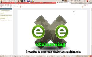 eXelearnig, creación de recursos didácticos multimedia